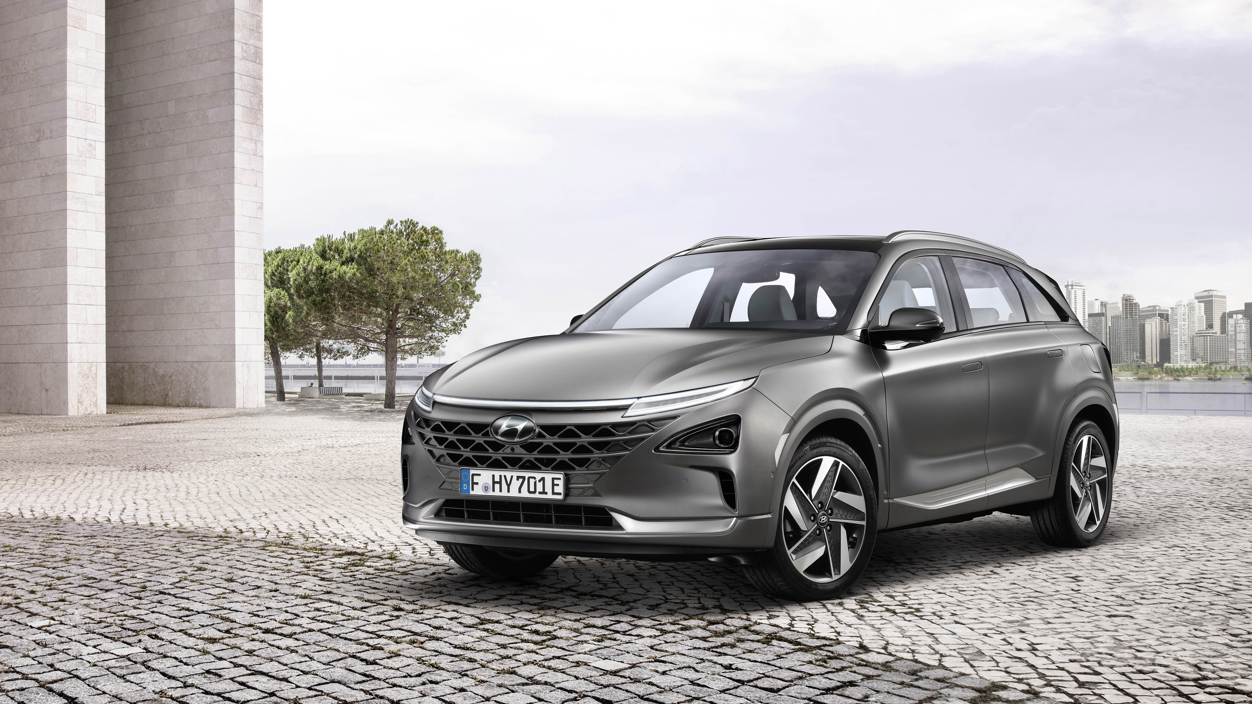 2018 Hyundai Nexo 4K Wallpaper HD Car Wallpapers ID 9683 4096x2304