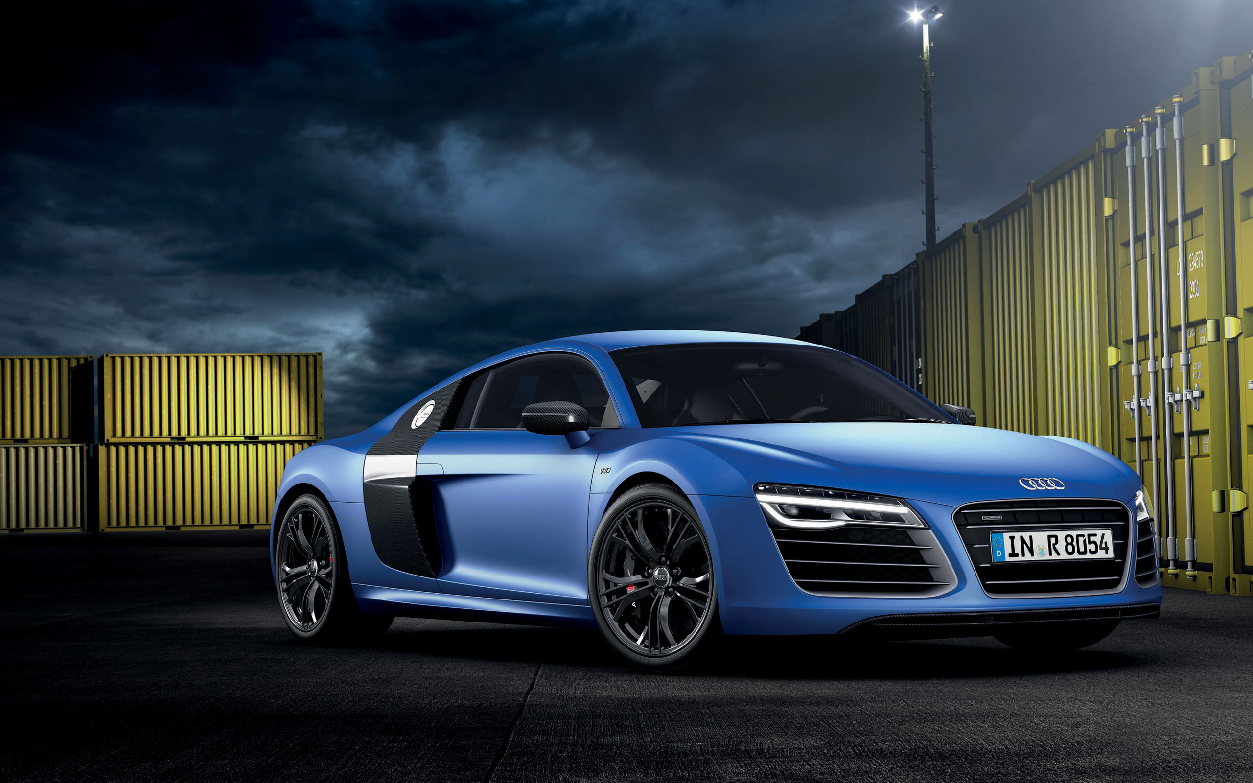 Audi R8 V10 Plus Wallpaper HD Car Wallpapers 2560x1600