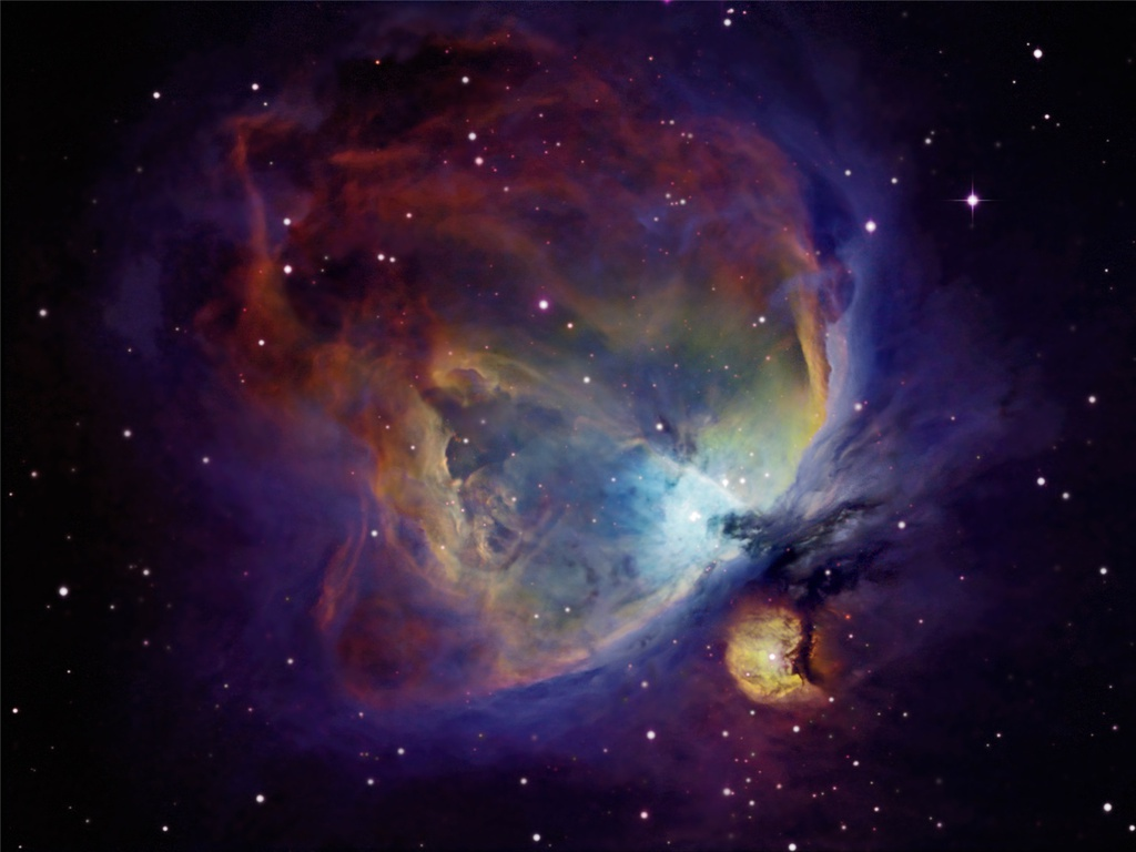 a spectacular sight the orion nebula One of the sky's brightest nebulas, the orion nebula, is visible to the naked eye it appears as the middle star in the sword of the constellation orion, t.