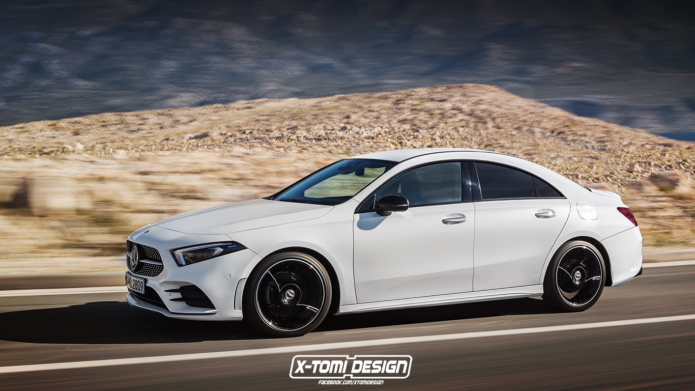 2020 Mercedes Benz CLA Rendering Might as Well Be an Official 1366x768