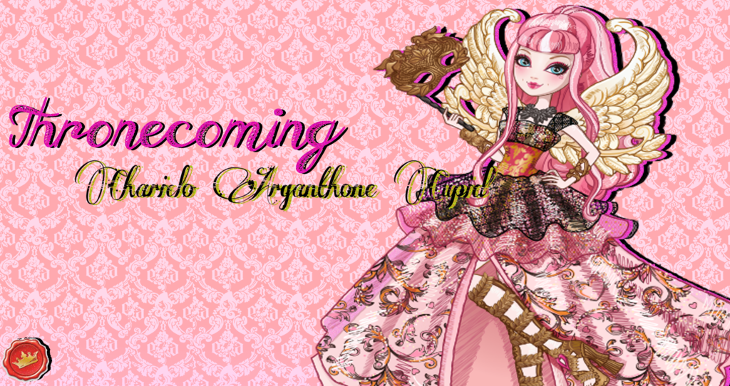 Ever After High CA Cupid Throneocoming Wallpaper by Wizplace on 1024x542