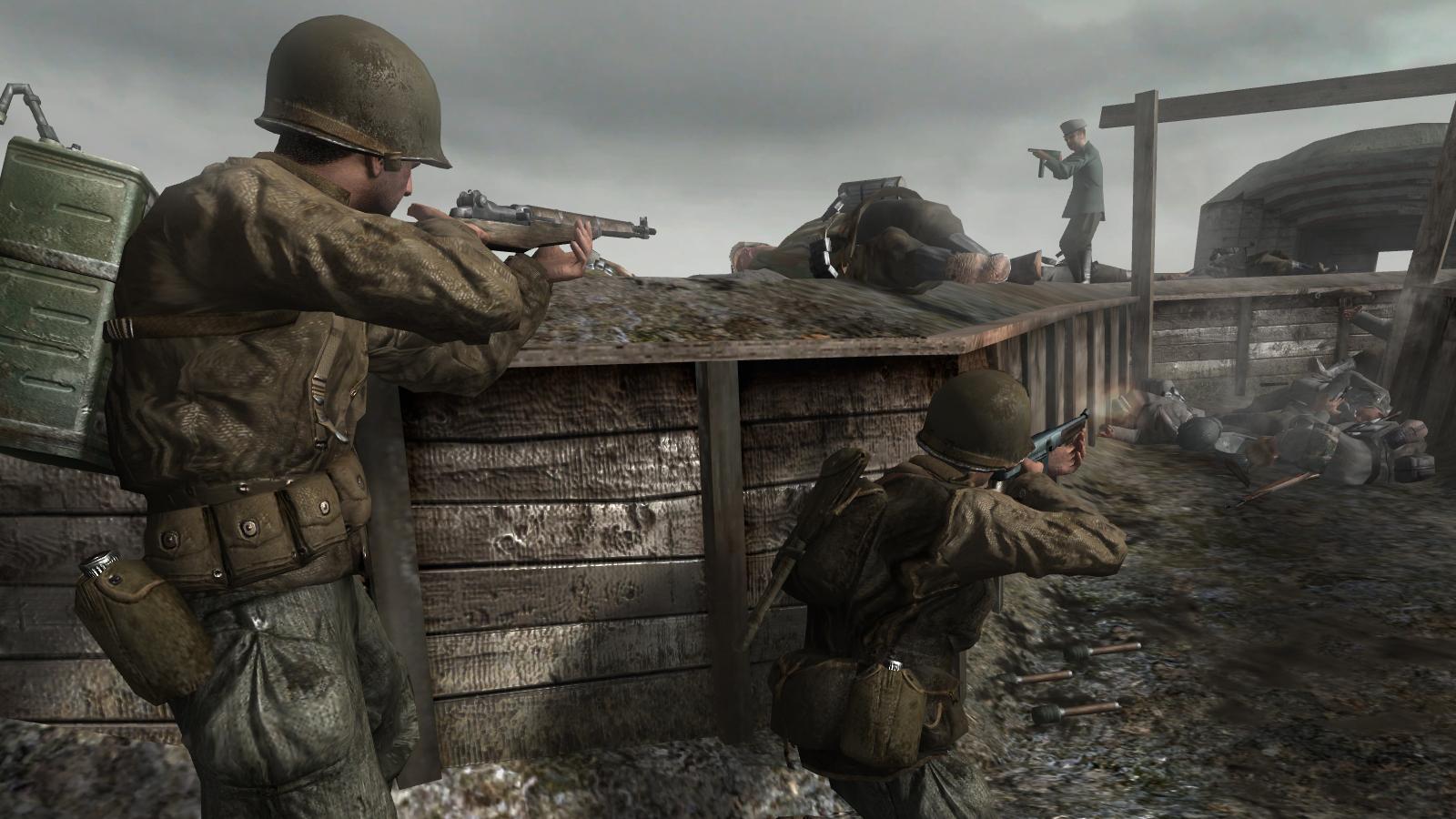 Fatal Flaws Call of Duty 2   Hardcore Gamer 1600x900