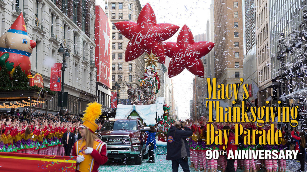 Lets Celebrate Macys Thanksgiving Day Parade 90th Birthday With 1000x563