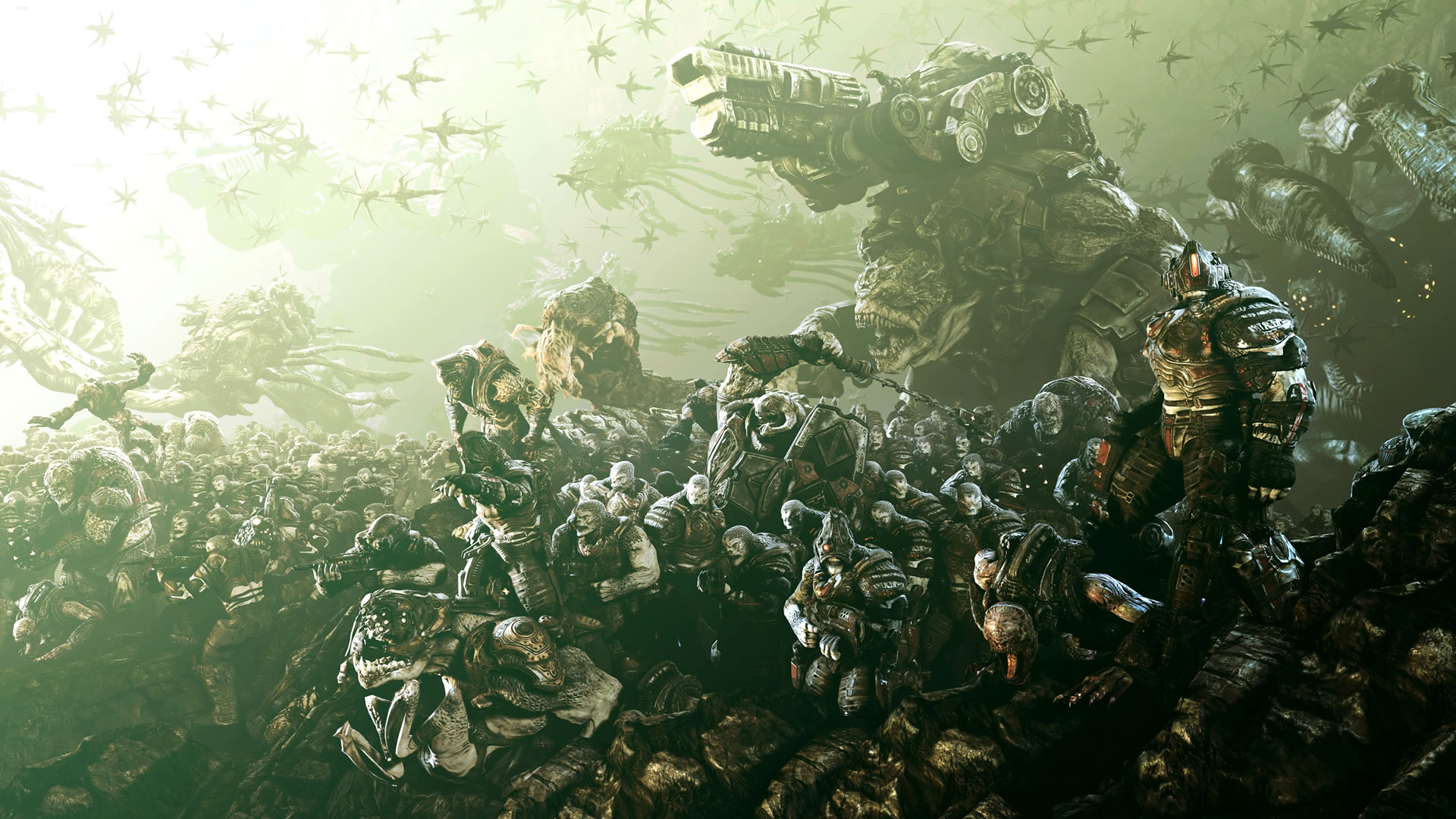 Gears of War 3 wallpaper   3D VideogamesCoolvibe Digital Art 1920x1080