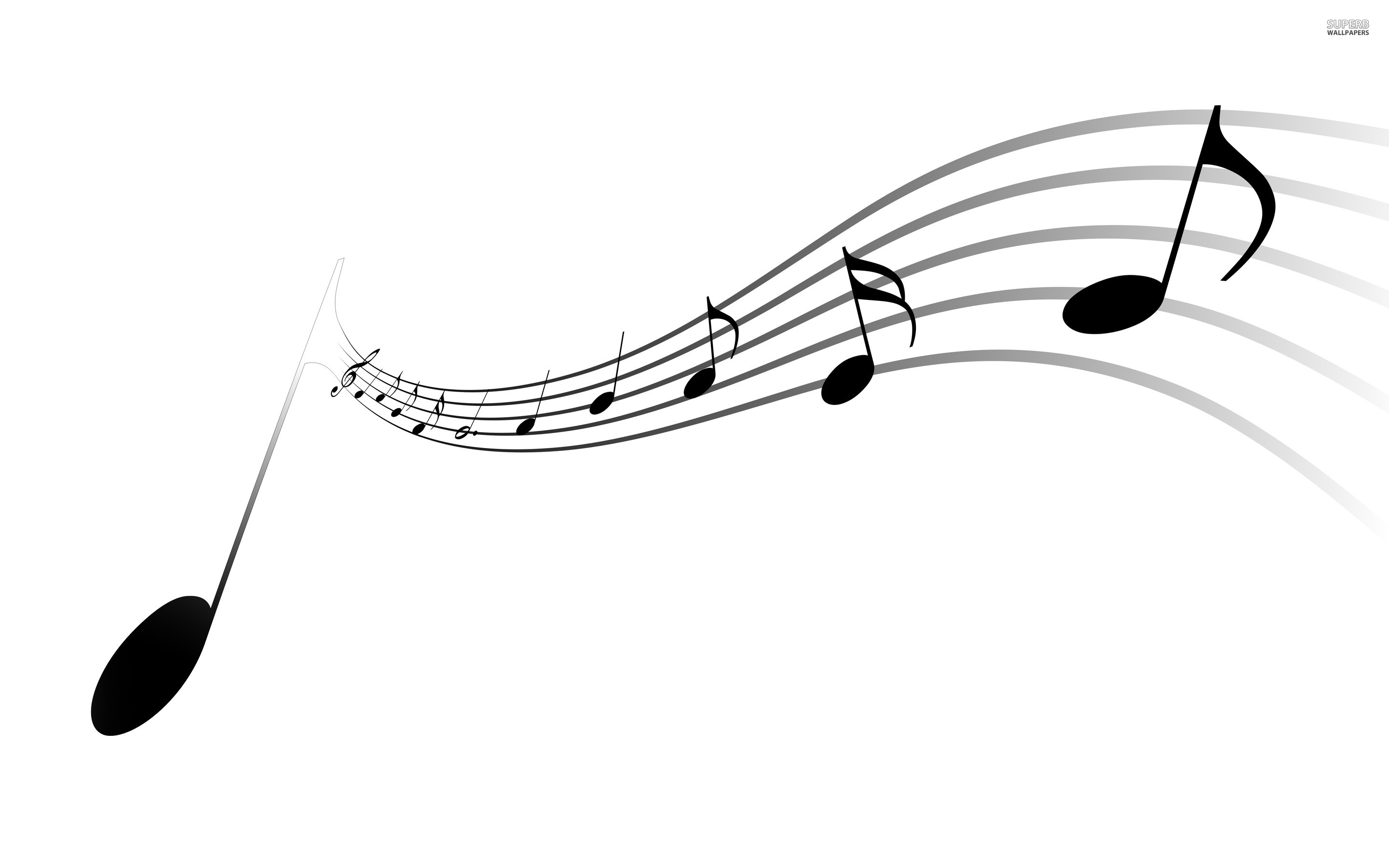 Musical Notes 2880x1800