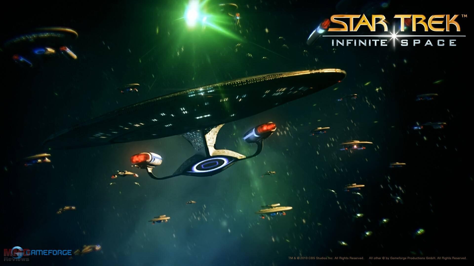 New Full HD wallpapers of Star Trek Infinite Space 1920x1080