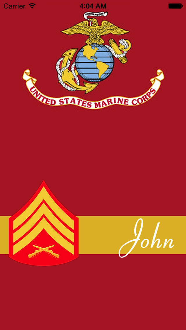 App Shopper Military Monograms   DIY Personalized Wallpapers for 640x1136