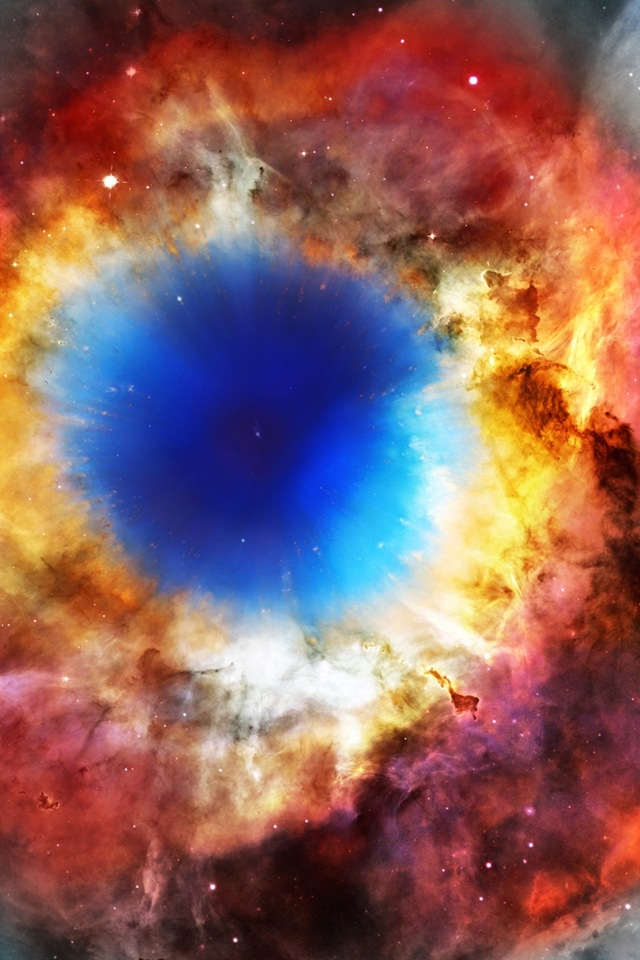 Helix Nebula Wallpaper - WallpaperSafari