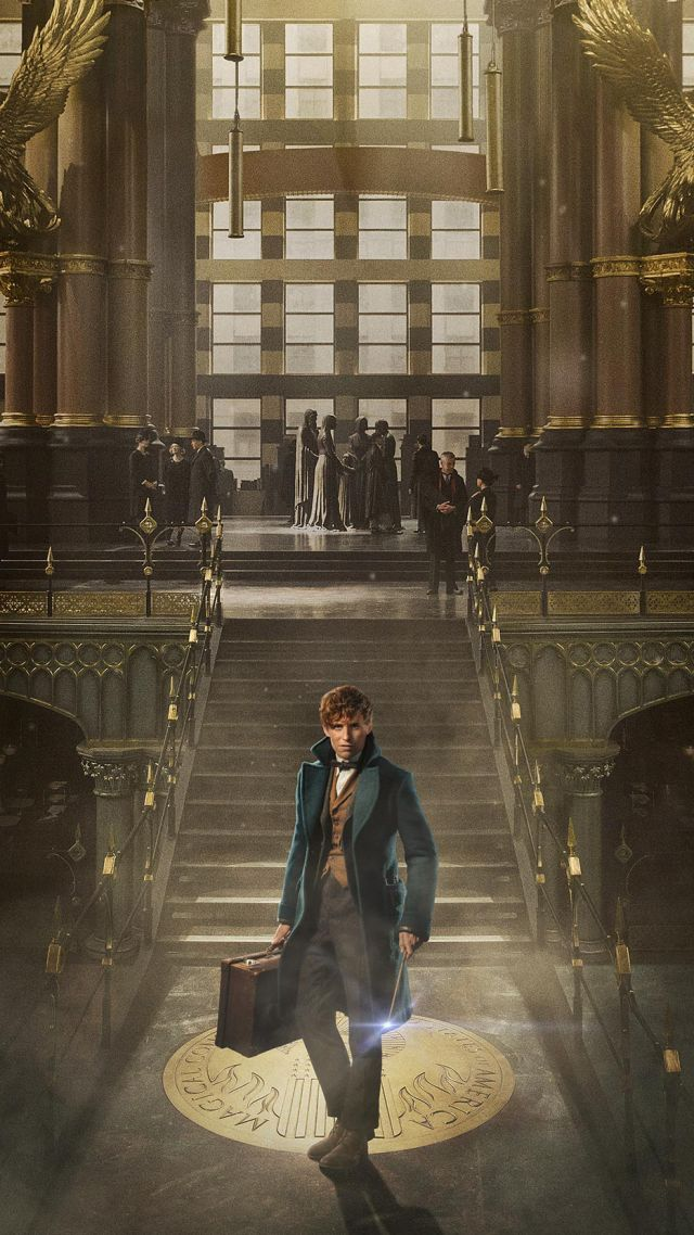 Wallpaper Fantastic Beasts And Where To Find Them Eddie Redmayne 640x1138