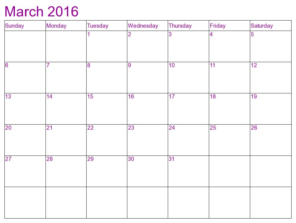 Best March 2016 Calendar Printable HD Wallpaper   httpstoxtoxlink 995x750