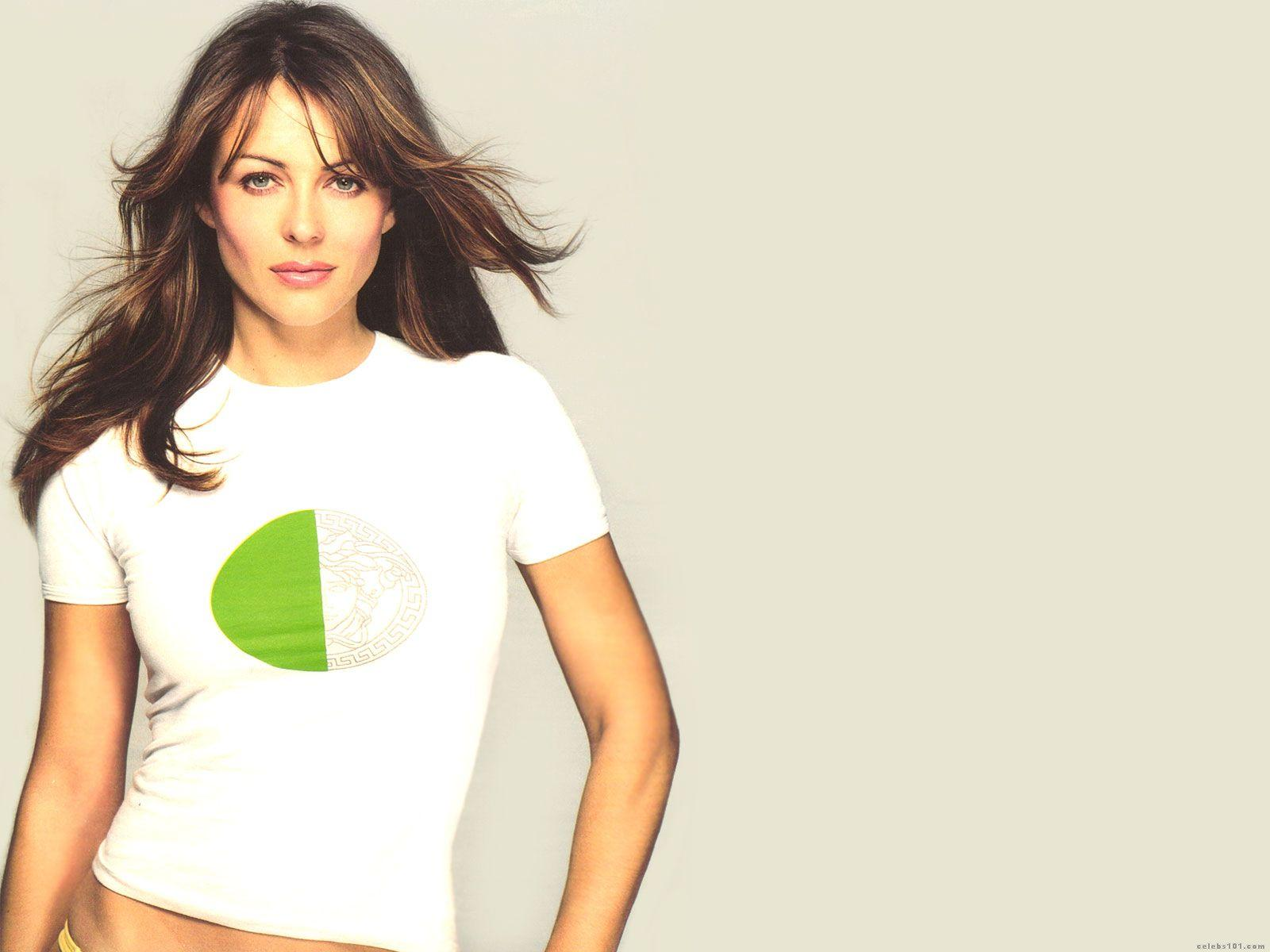 Elizabeth Hurley High quality wallpaper size 1600x1200 of 1600x1200