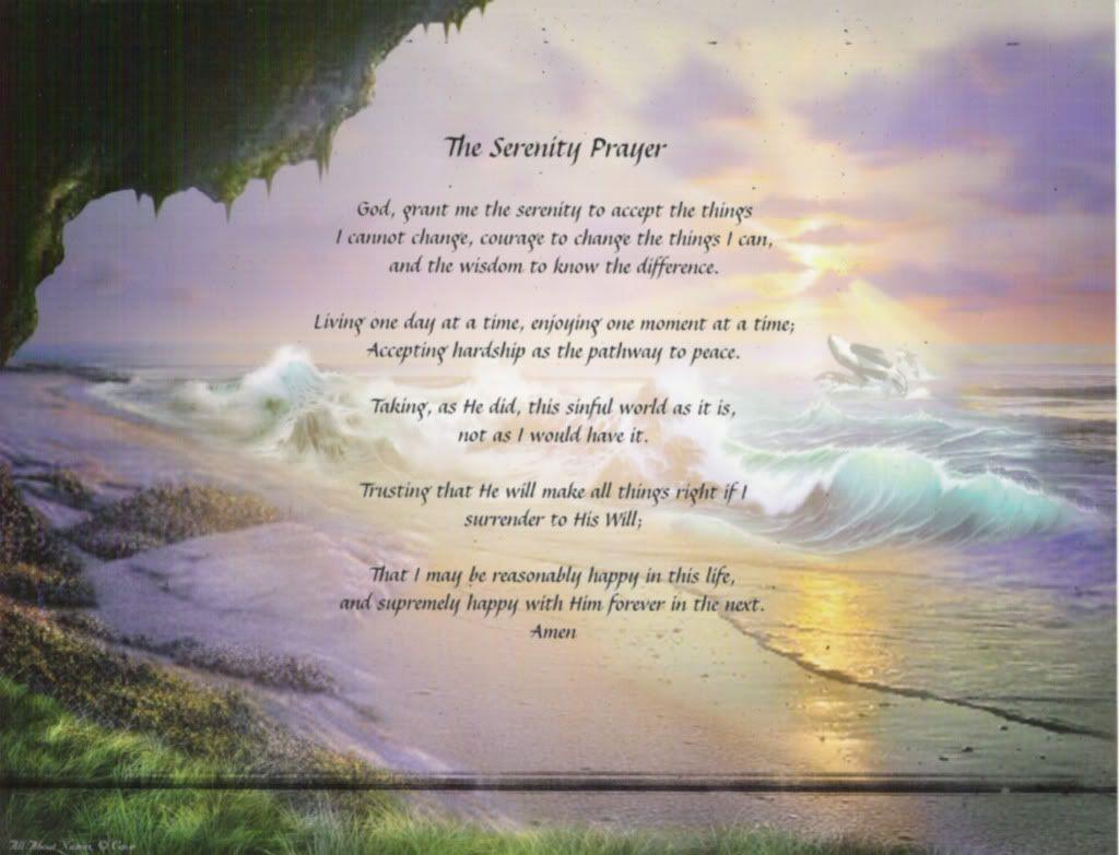 Serenity Prayer Wallpapers 1024x783