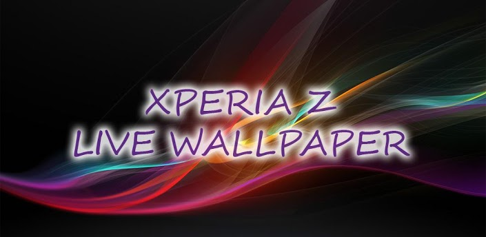 Live Wallpaper inspired by new Sony Xperia Z device background 705x344