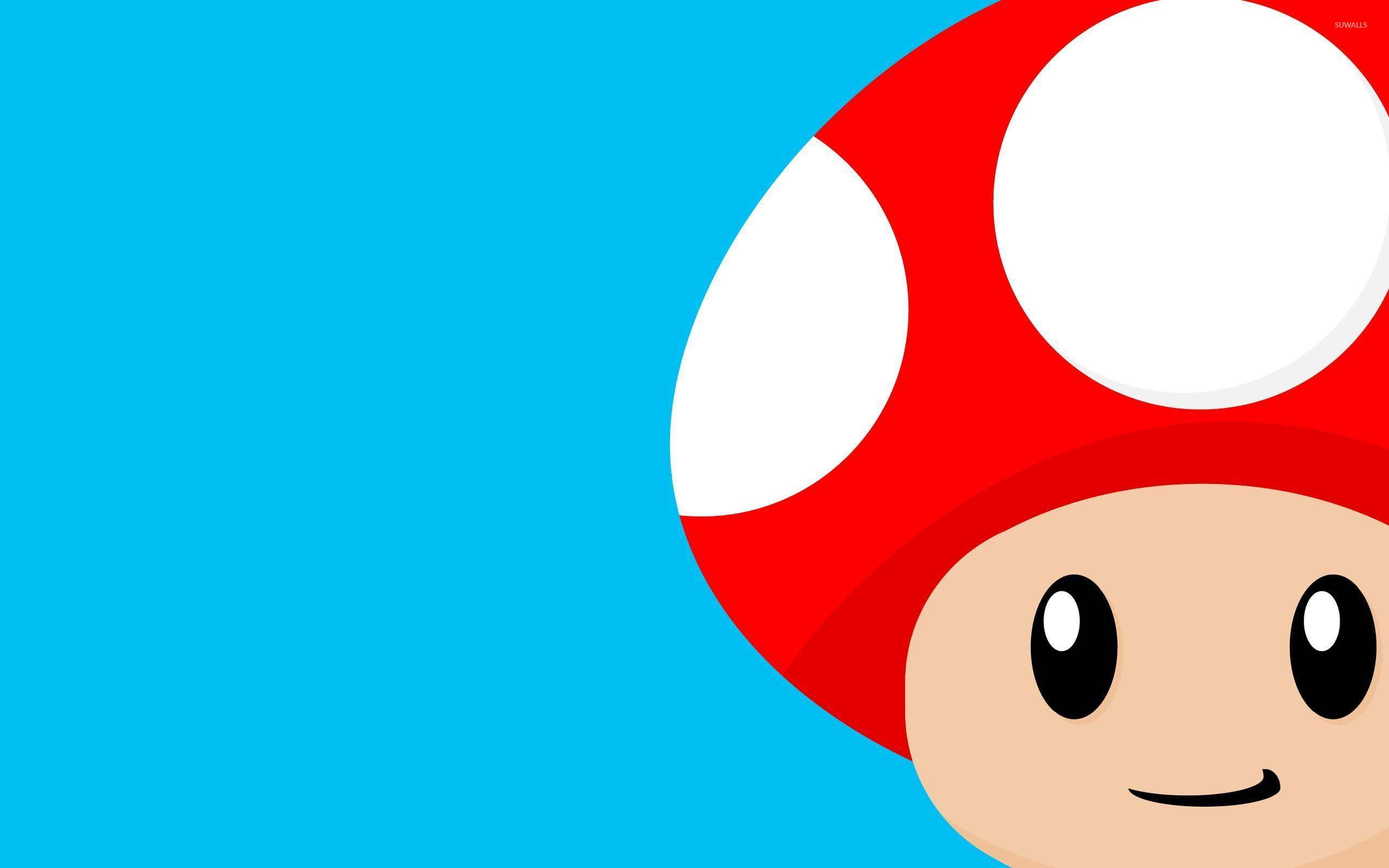 69 Mario Mushroom Wallpaper On Wallpapersafari