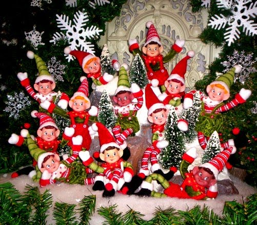 Christmas Desktop Wallpapers Christmas Elves Desktop Wallpapers 501x440