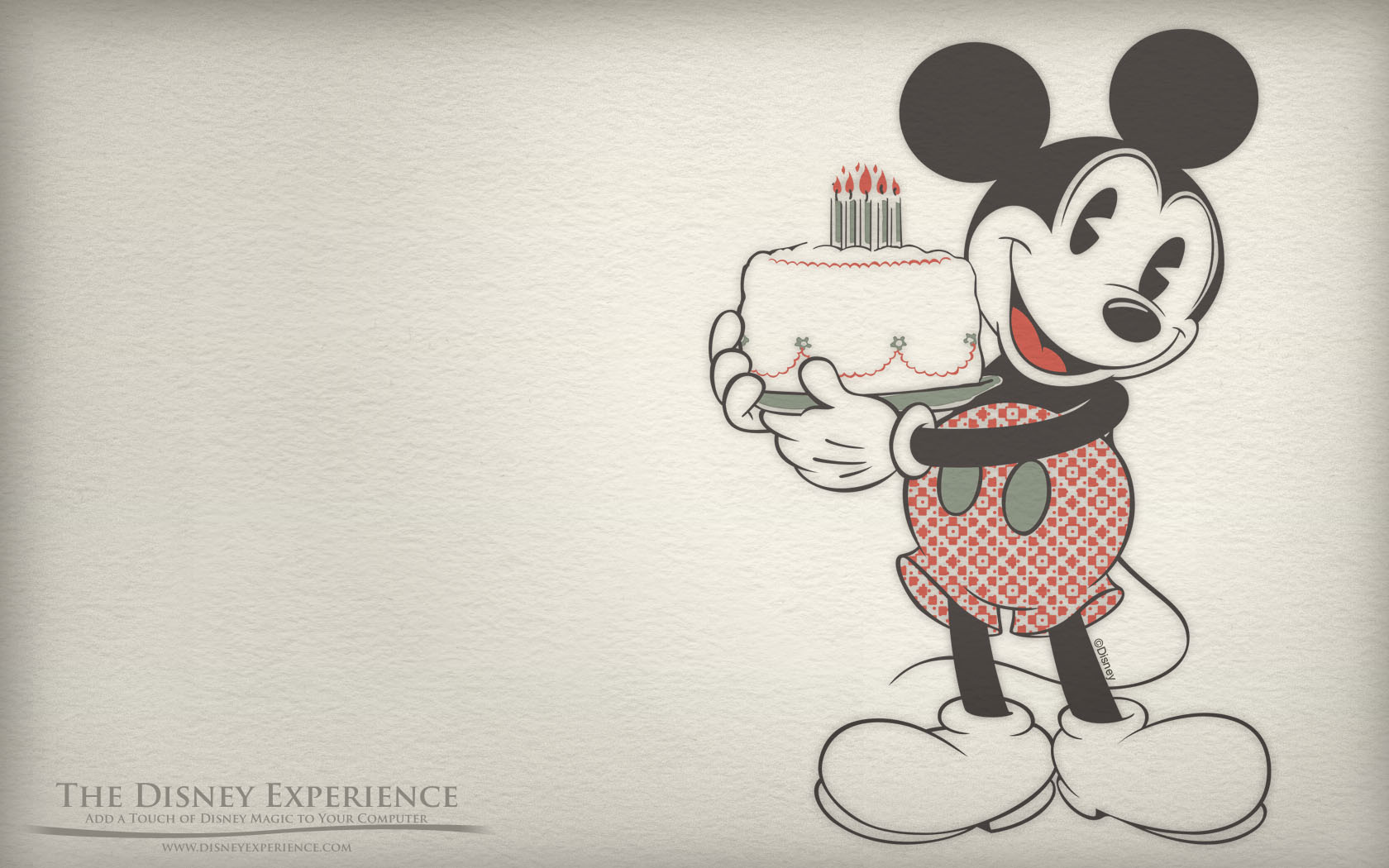 Mickey mouse wallpaper desktop hd background disney cartoon character 1680x1050