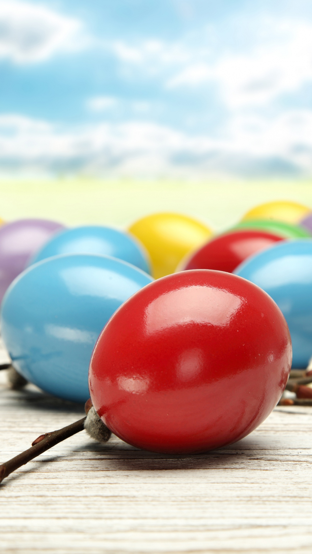 Free Download Colorful Easter Eggs Iphone 6 Wallpaper Download