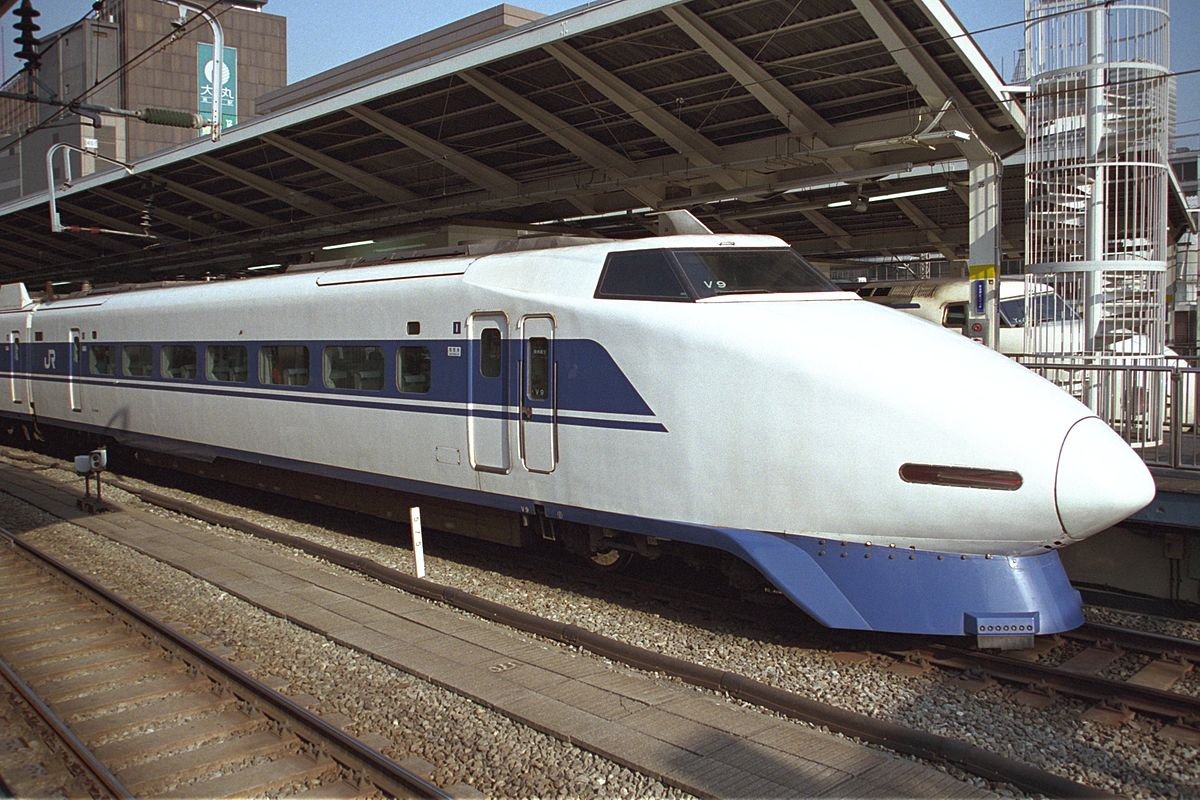 100 Series Shinkansen   Wikipedia 1200x800