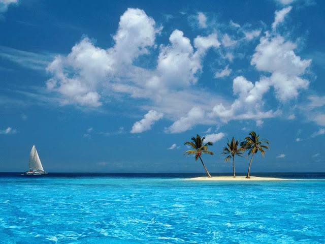 Contoh gambar pantai yang indah dan super keren sebagai inspirasi 640x480