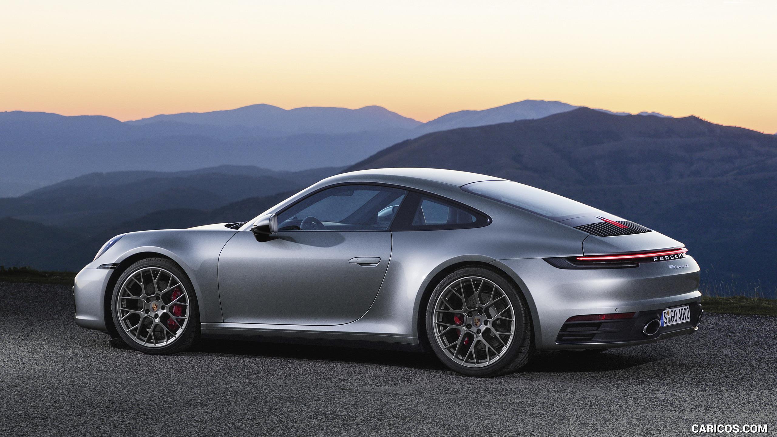 2020 Porsche 911 Carrera 4S   Side HD Wallpaper 7 2560x1440