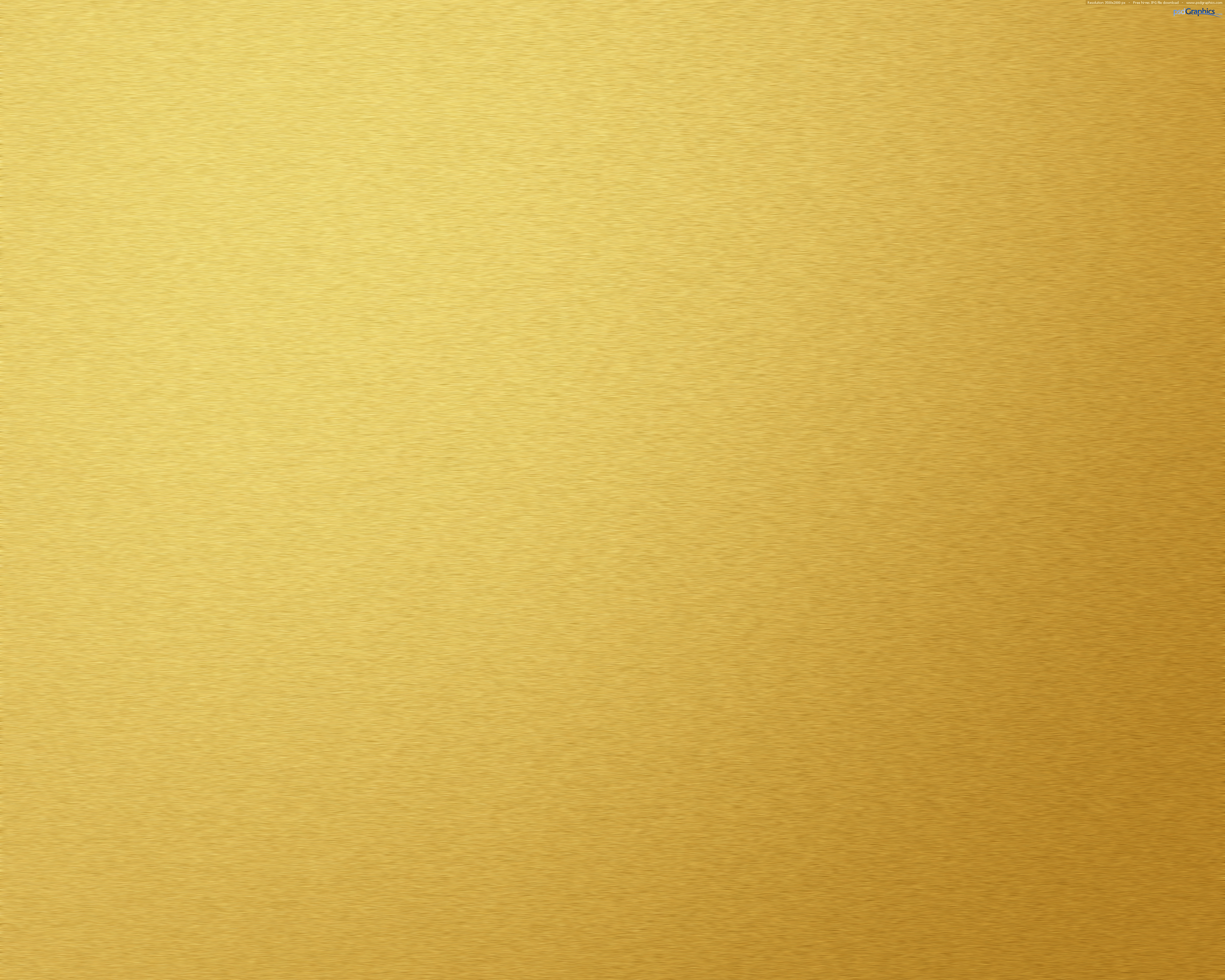 Brushed gold metal texture PSDGraphics 3500x2800