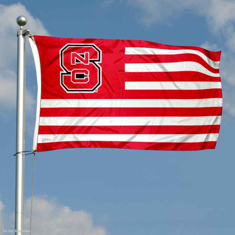 Nc State University Flag 750x750