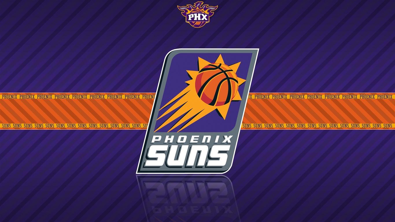 Phoenix Suns team logo widescreen HD wallpaper   1366x768 Wallpaper 1366x768