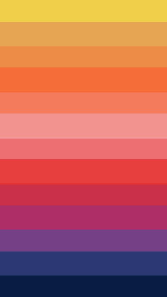 Horizontal Rainbow Stripes Wallpaper   iPhone Wallpapers 540x960
