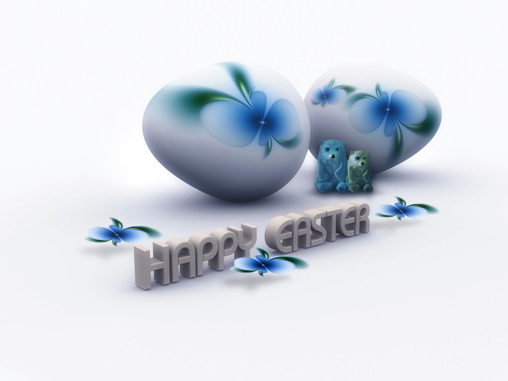 1024x768 Happy Easter desktop PC and Mac wallpaper 1024x768
