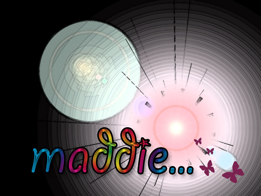Custom Name Wallpaper   Maddie by Madelaine00x 1032x774