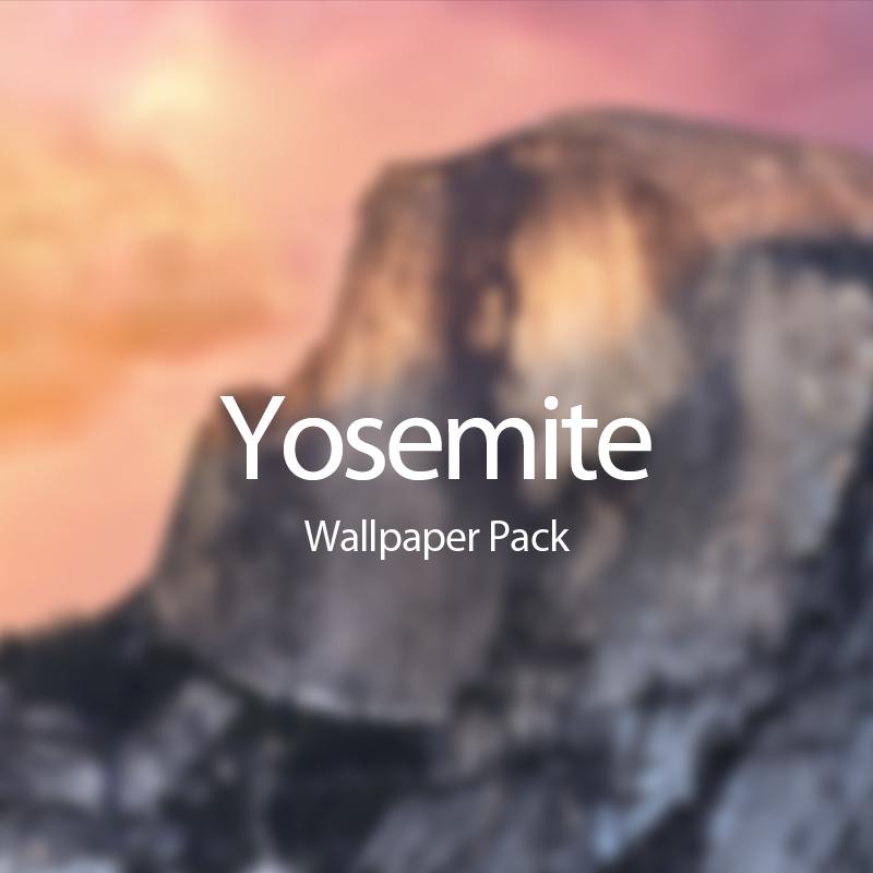 OS X Yosemite Wallpaper Pack   ShockBlast 800x800