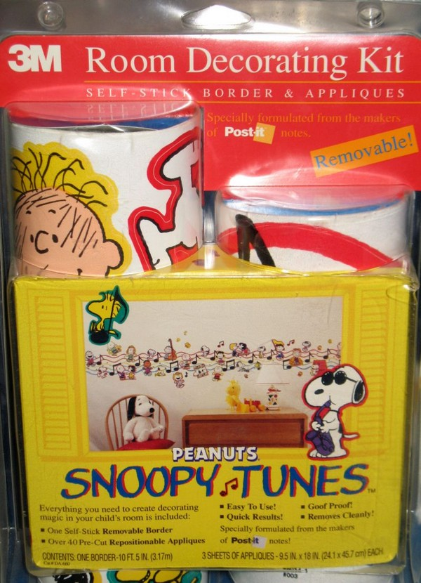 Snoopy Tunes Wallpaper Border Appliques Snoopn4pnutscom 800x1106