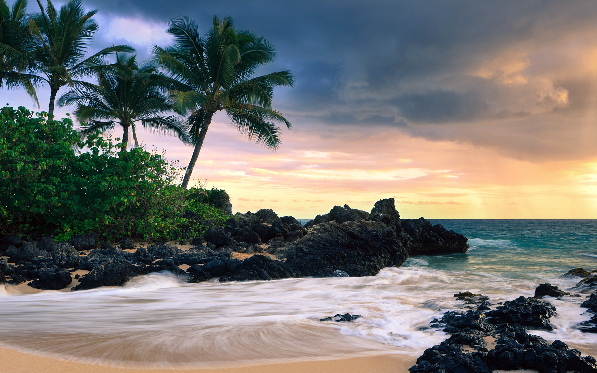 Hawaii Secret Beach HD Wallpapers 1920x1200