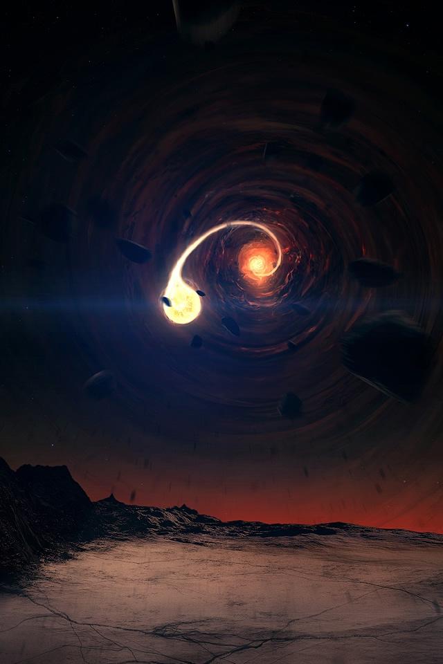 Live Black Hole Desktop Wallpaper - WallpaperSafari