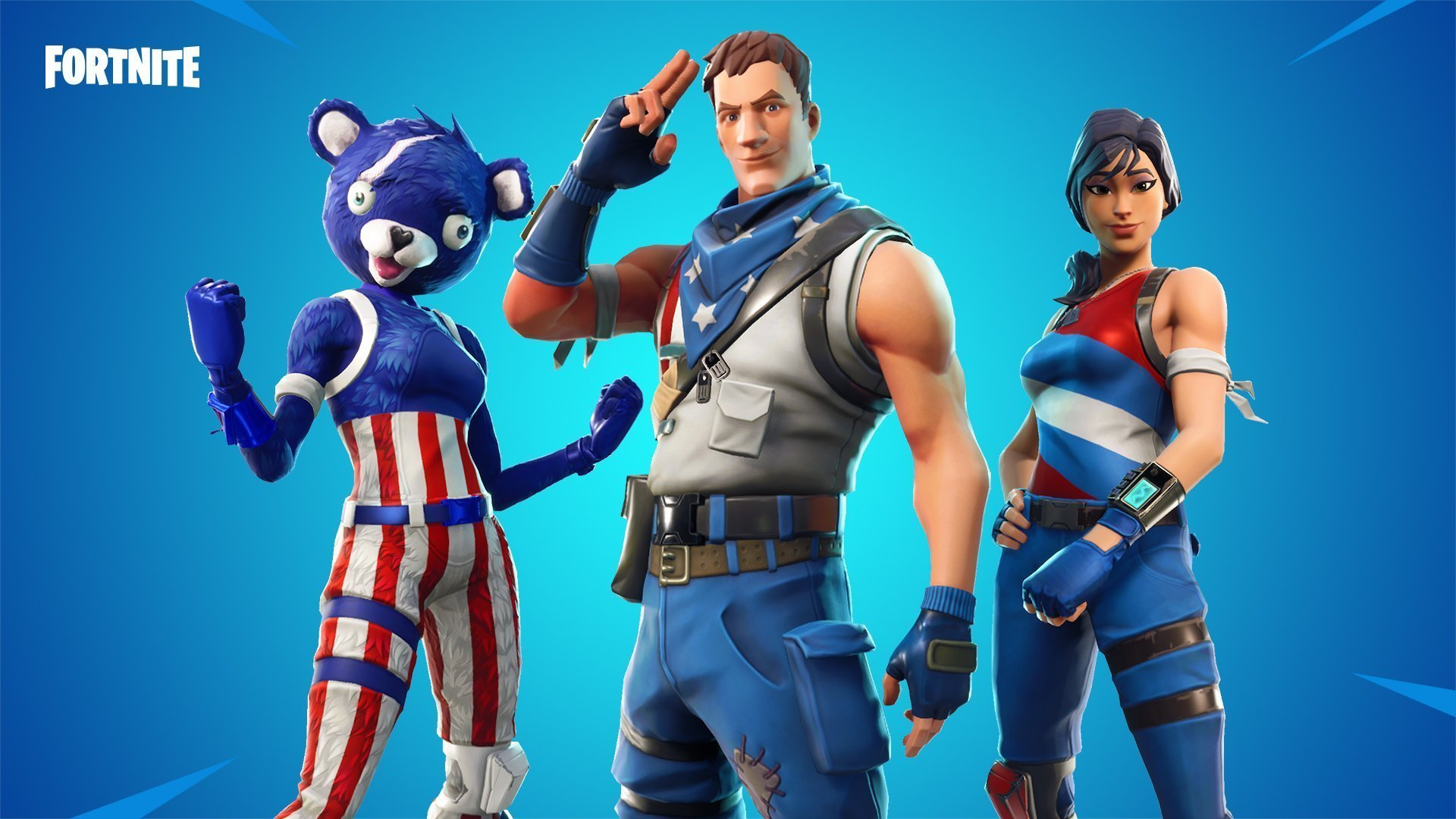 Fortnite Star Spangled Ranger Outfits   Fortnite Skins 1920x1080