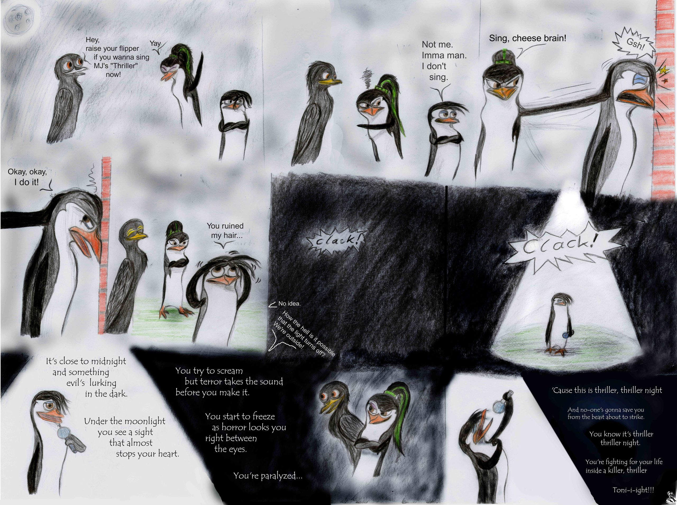 Mica the pinguin Bilder A Halloween Comic   with Mica Jhordan and 2560x1909