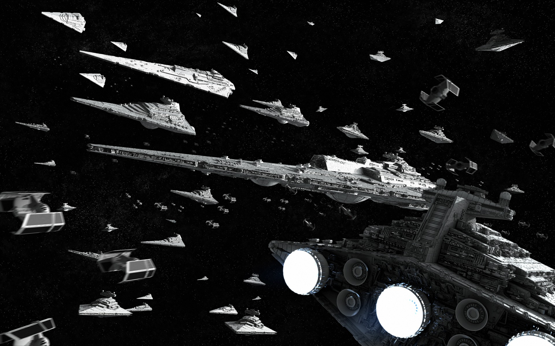 Star Wars   Imperial Fleet desktop wallpaper 1920x1200