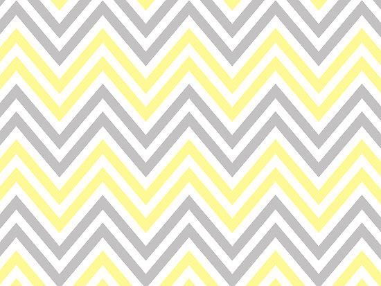 Portfolio Zigzag Chevron Stripes   White Yellow Gray 550x413