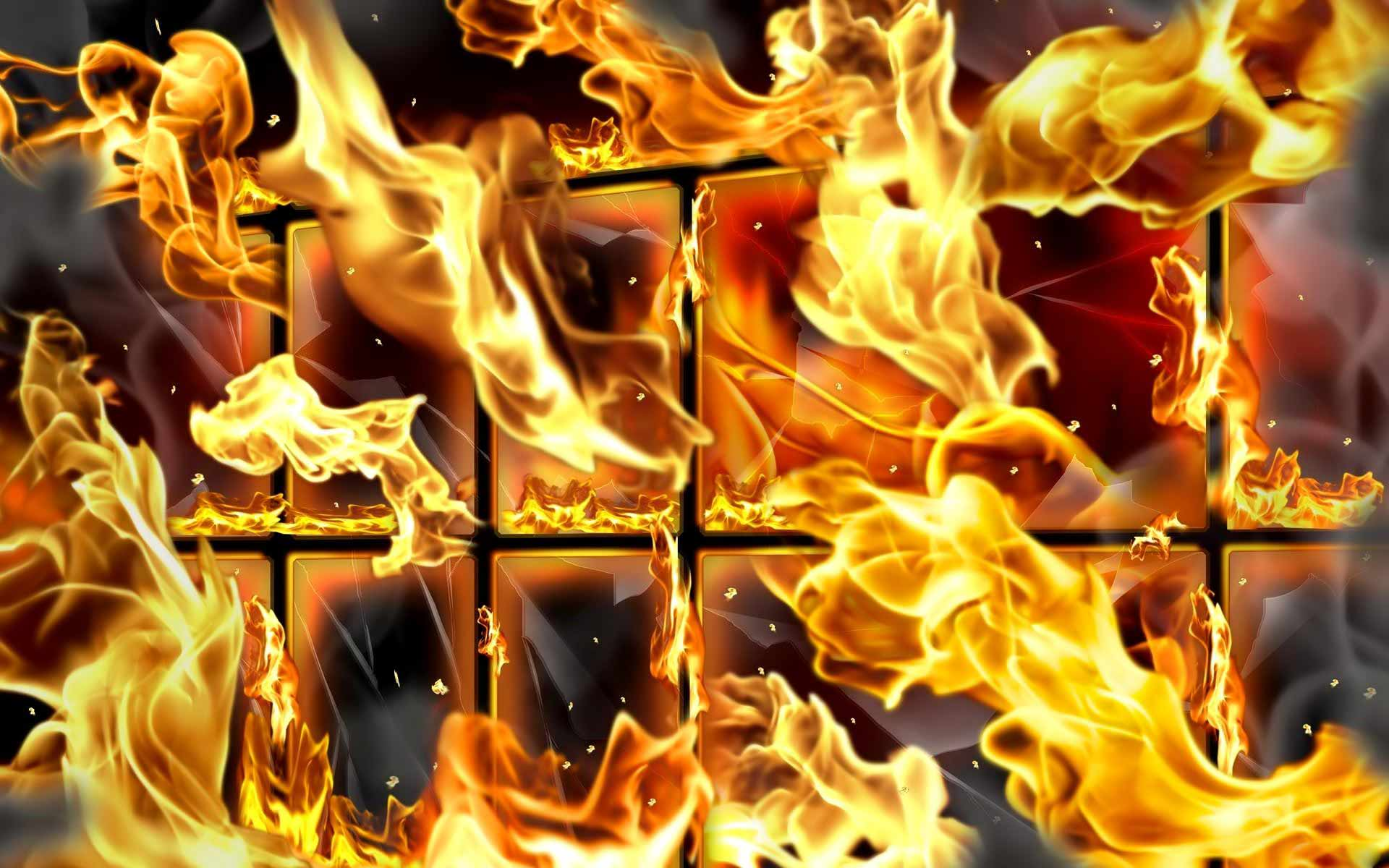 Fire Flame Wallpaper Picture 1920x1200