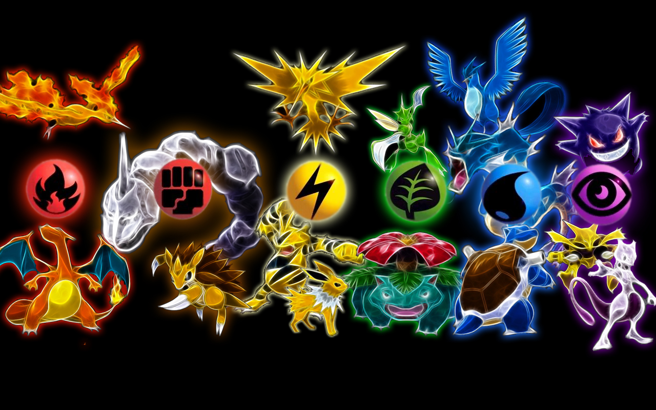 Pokemon Wallpaper Legendary ImageBankbiz 1280x800