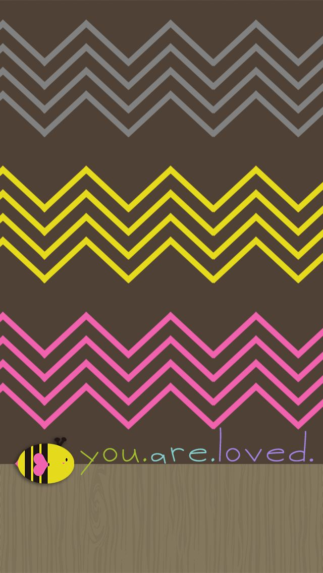 Cute Chevron Wallpaper Things to try Pinterest 640x1136
