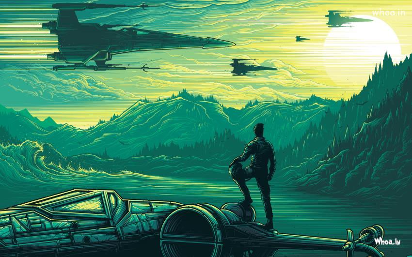 Star Wars the force awakens Animated HD WallpaperWallpaperHD 850x531