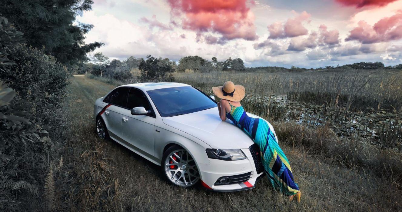 48 Audi Girl Wallpaper On Wallpapersafari
