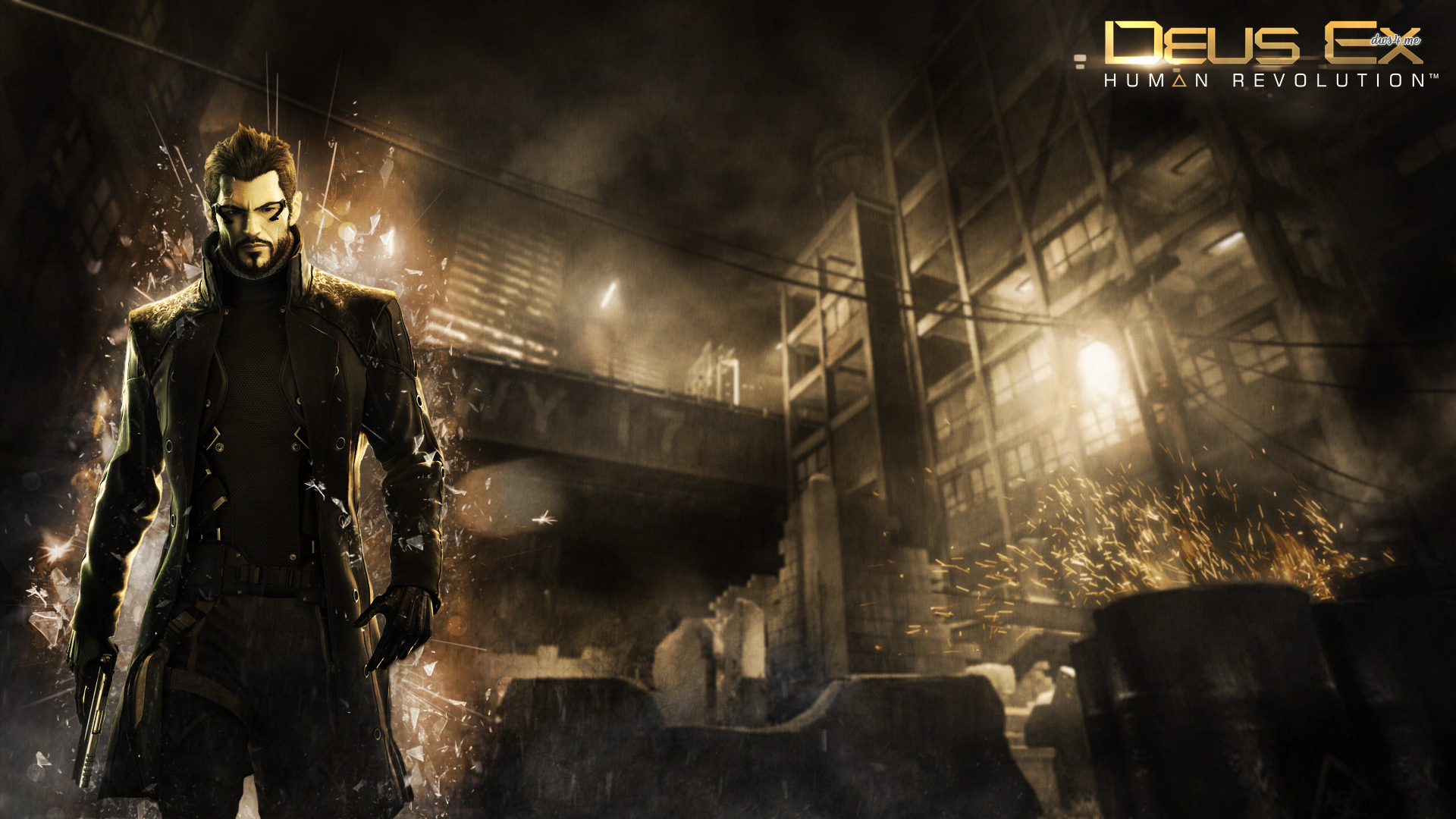 Deus Ex   Human Revolution wallpaper 1280x800 Deus Ex   Human 1920x1080
