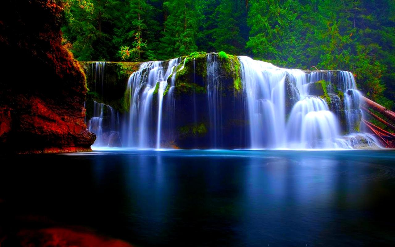 Free Download Waterfall Hd Backgrounds Hd Wallpaper