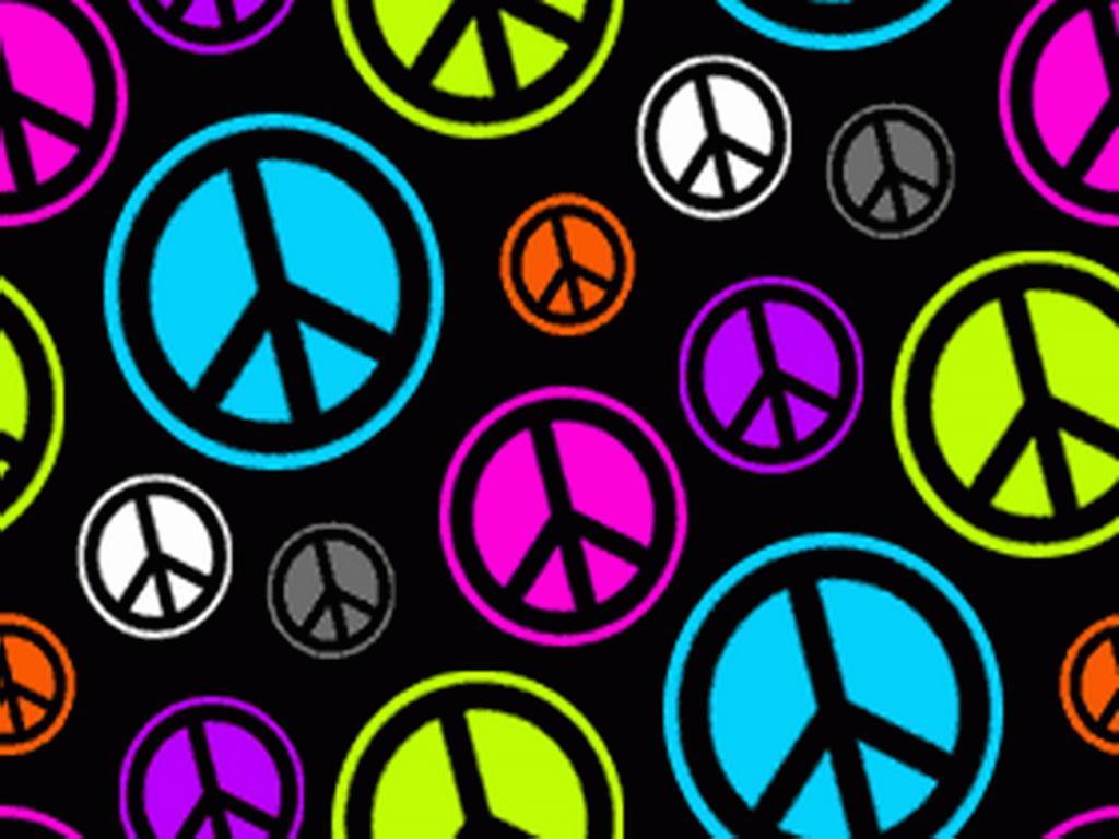 Zebra Peace Sign Wallpaper images 1024x768