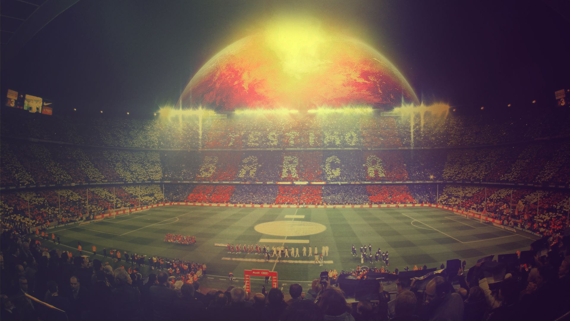 Camp Nou stadium wallpaper 14998 1920x1080