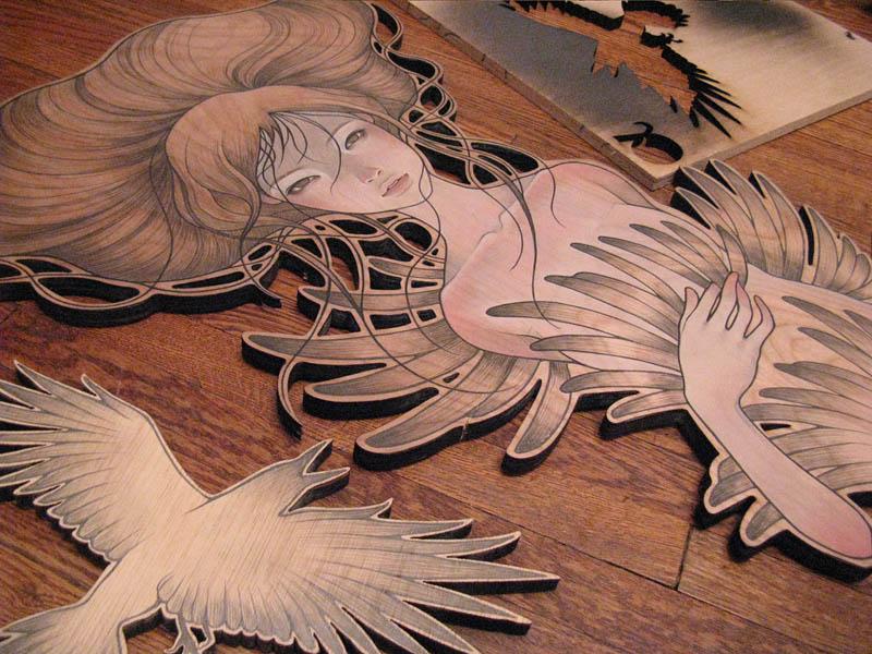 Audrey Kawasaki Scope Miami Beach Art Fair 800x600