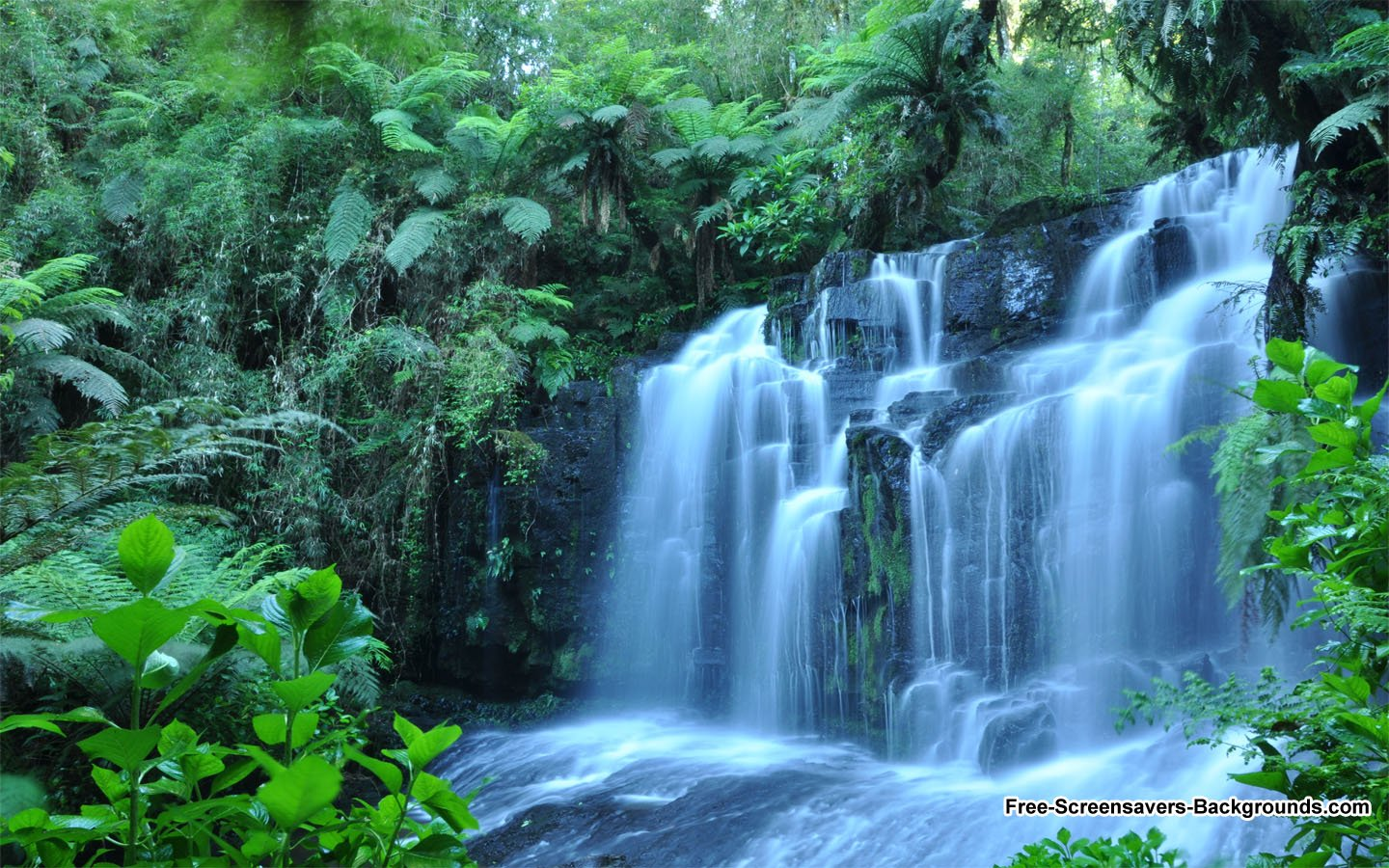 Waterfall Wallpapers Feb 2 2011   Screensavers and Backgrounds 1440x900