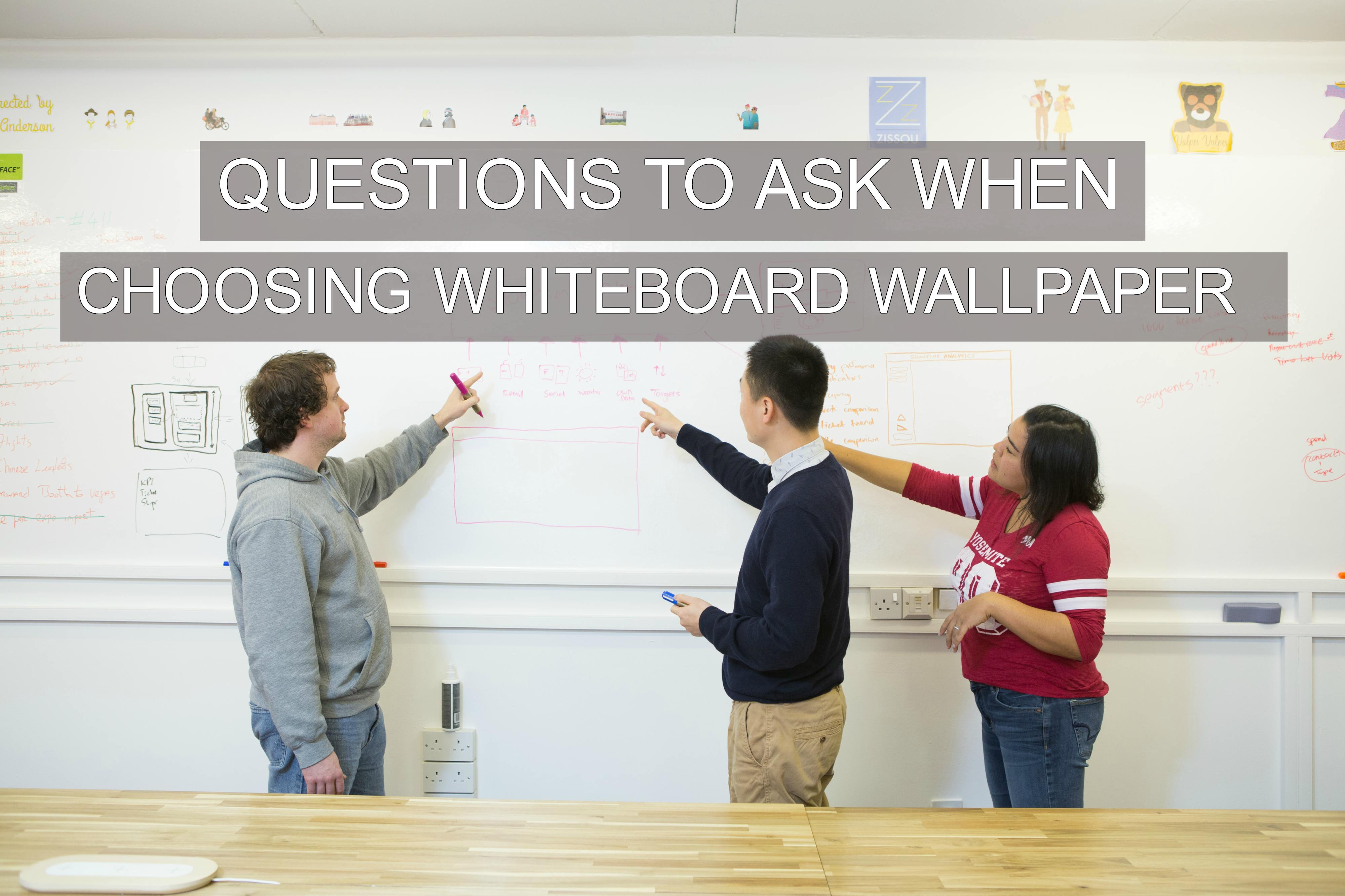 Questions To Ask When Choosing Whiteboard Wallpaper   Smarter 4000x2666